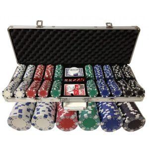 Zestaw do pokera LION 500 żetonów 11,5g
