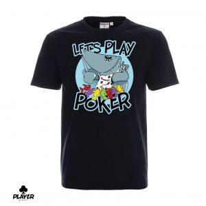 T-Shirt Let's Play Poker